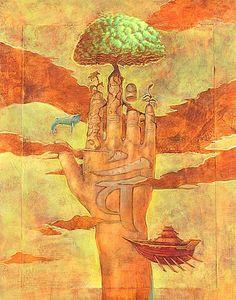 8-Hand-of-Nyorai by Kazu Tabu
