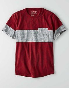 Shop casual Men's T Shirts at American Eagle. Find crew neck t shirts, henley t shirts, graphic tees, v neck t shirts, drop shoulder t shirts & more in new colors and styles. Cool Shirts, Casual Shirts, Tee Shirts, Le Polo, Herren T Shirt, T Shirts For Women, Clothes For Women, Mens Tees, T Shirt Men