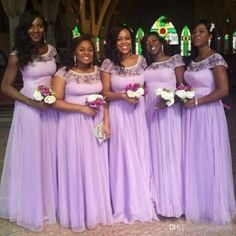 Turquoise and Lilac Bridesmaid Dresses Cheap