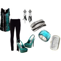 """Girls Night Out"" by jliz516 on Polyvore"