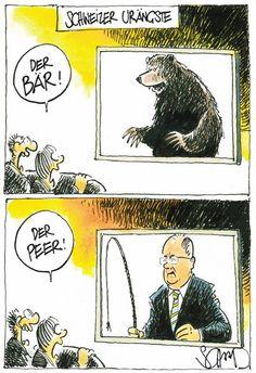 """Eine """"Ur-Angst"""" der Schweizer. #humor"""