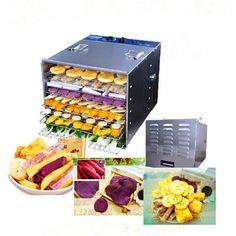 199.00$  Buy here - http://alikp4.worldwells.pw/go.php?t=32784053550 - Industrial fruit vegetable dehydrator stainless steel pet food dryer drying machine 199.00$