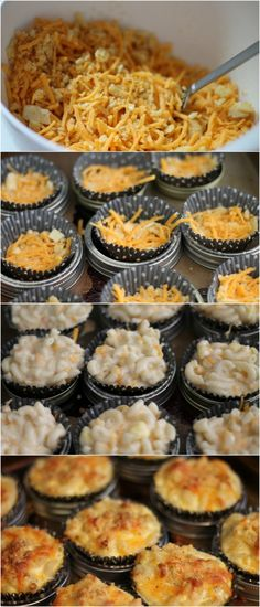[ad] of July Foods: Mac 'n Cheese Cupcakes & Fried Chicken - Nessa Makes (bake mac and cheese bites) Summer Recipes, Holiday Recipes, Great Recipes, Favorite Recipes, Dinner Recipes, Mac And Cheese Cupcakes, Fourth Of July Food, July 4th, 4th Of July Food Sides
