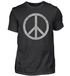 Peace Symbol mit Cannabisblätter T-Shirt Basic Shirts, Mens Tops, Fashion, Hemp, Gift, Moda, La Mode, Fasion, Fashion Models