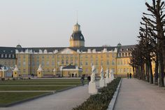 Louvre, Castle, Mansions, House Styles, Building, Travel, Karlsruhe, Germany, Viajes
