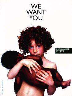 We Want You - Benetton - Oliviero Toscani