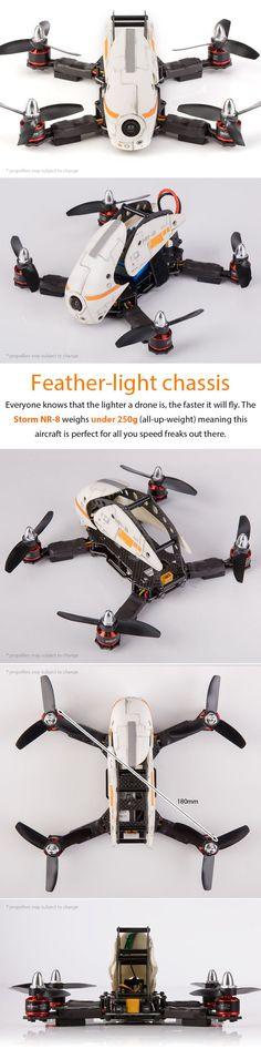 STORM Racing Drone (RTF / NR-8) http://www.helipal.com/storm-racing-drone-rtf-nr-8.html