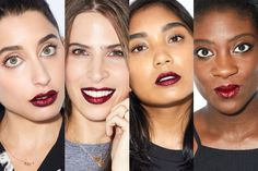 Com editors test drive pat mcgrath labs new lust 004 lip kit Glitter Lipstick, Red Glitter, Lehenga, Beauty Skin, Beauty Makeup, Beauty Video Ideas, Girly, Postnatal Workout, Pat Mcgrath