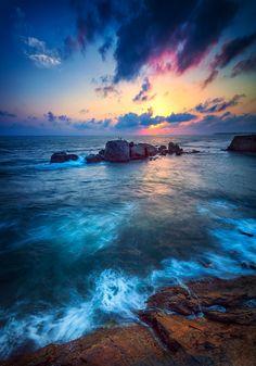 Sunset at Galle - Sri Lanka