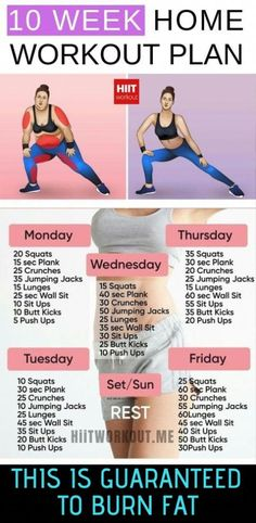 fitness workout for women at home / fitness workout for women . fitness workout for women at home . fitness workout for women gym Weekly Workout Plans, At Home Workout Plan, Weekly Exercise Plan, Exercise At Home, 10 Week Workout Plan, Weight Loss Workout Plan, Exercise Plans, Daily Exercise Routines, At Home Workouts For Women