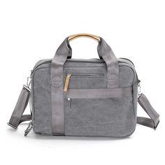 Office Bag | Washed Grey