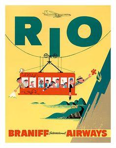 Rio • Braniff International Airways  ~ Anonym
