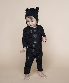 616028e2f Huxbaby Shapes Black on Black Long sleeve Romper. Black Long Sleeve RomperCool  Baby ClothesBlack BearBaby Boy FashionKids ...