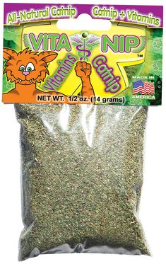 E.A.T.s - Edible Animal Treats VitaNip Treat with Vitamins, 1/2-Ounce, All Natural * Check this awesome product by going to the link at the image.