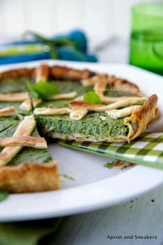 Apron and Sneakers - Cooking & Traveling in Italy and Beyond: Kale and Ricotta Quiche #stepable