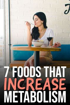Metabolism is important for our bodies. It helps to produce our energy. that's why we should know at least 7 foods that increase metabolism. Foods That Increase Metabolism, Metabolism Boosting Foods, Slow Metabolism, Boost Your Metabolism, Free Weight Loss Programs, Obese Women, Burn Belly Fat, Weight Gain, Crockpot Recipes