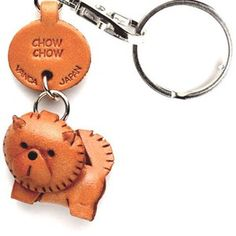 Chow Chow Keychain, $13.50, now featured on Fab.
