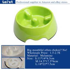 Lepetco is a wholesale manufacturer of non-slip stainless steel and melamine slow feed dog bowl with reasonable price for 7 years. We are looking for worldwide partner and wholesalers Any interest and more details,please check: www.lepetco.com Best Regards Lepet Family Mail:sales01@lepetco.com Tel: 86-022-28424860 Elevated Dog Bed, Elevated Dog Bowls, Cat Litter Mat, Litter Box, Online Pet Supplies, Dog Supplies, Chain Link Dog Kennel, Raised Dog Beds, Pet Cooling Mat