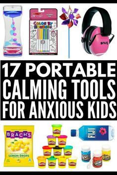 17 Tools to Include in a Calm Down Kit for Kids | Does your child suffer from anxiety that makes self-regulation difficult? Perfect for children in preschool, kindergarten, middle school, and beyond (even for teens!), we're sharing 6 coping skills and 17 calming tools to help your child with anger management and explosive feelings at home, in the classroom, and while on the go. #anxiety #mentalhealth #selfregulation #selfregulationactivities #zonesofregulation #selfcontrol #autism…