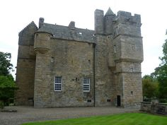 Fordell Castle is a restored tower house, located miles km) north-west of Dalgety Bay and 2 miles km) east of Dunfermline, in Fife, Scotland. Scotland Castles, Scottish Castles, Fife Scotland, Galloway Scotland, Chateau Medieval, Medieval Castle, Tower House, Castle House, Jamestown Va
