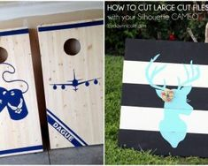 How to Cut Large Stencils with Your Silhouette CAMEO