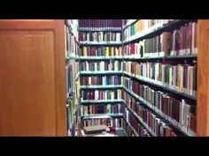 Dr. Scott Hahn's Legendary Home Library Loving the Perpetual Help Icon at the end!!