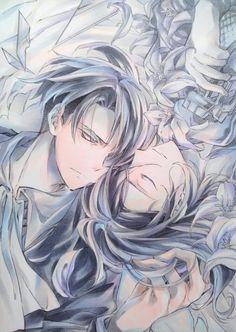 Levi & Petra (by meropan) | Shingeki no Kyojin #anime