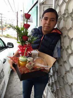 Flower Box Gift, Flower Boxes, Breakfast Tray, Gift Bouquet, Surprise Box, Gift Baskets, 2nd Birthday, Valentine Gifts, Goodies