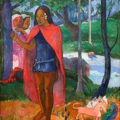 Paul Gauguin, Henri Matisse, Gauguin Tahiti, Art Dégénéré, Hiva Oa, List Of Paintings, Degenerate Art, Impressionist Artists, Art Moderne