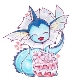 pokemon cute adorable kawaii pixiv fan art eevee flareon vaporeon espeon umbreon…