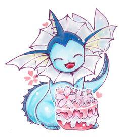 pokemon cute adorable kawaii pixiv fan art eevee flareon vaporeon espeon umbreon leafeon glaceon eeveelutions eeveelution not my art Sylveon pokepuff jotleon