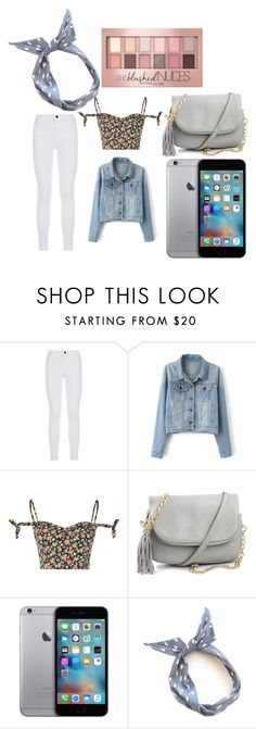 """""""Untitled #473"""" by sammi-mo ❤ liked on Polyvore featuring Frame Denim, Glamorous and Maybelline"""