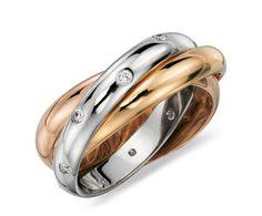 Rolling Starlight Diamond Eternity Ring #BlueNile