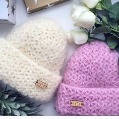 Click to view pattern for - Crochet hat of mohair