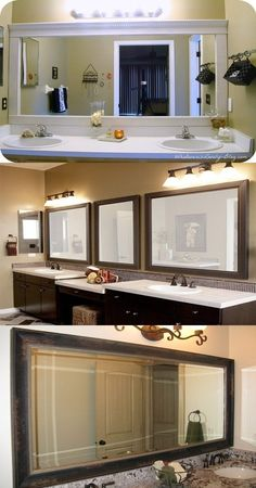 About Bathroom Mirrors - When designing your bathroom pay attention that mirrors have a great influence and they add a touch of creativity. Mirrors reflect the lights and other objects in the bathroom. With mirrors we can accomplish tasks such as makeup and shaving. Before buying mirrors you can browse different... -  - bathroom