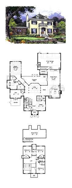 63 Best Luxury House Plans Images In 2019 House Floor Plans Dream