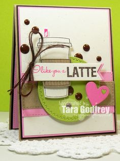 Tara Godfrey uploaded this image to See the album on Photobucket. Birthday Wishes, Birthday Cards, Coffee Theme, Coffee Cards, Stampin Up Cards, Cricut Cards, Card Sketches, Creative Cards, Homemade Cards