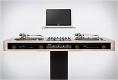 Im not a DJ and i want this!!! :O  STEREO T DJ WORKSTATION | BY HOERBOARD | Image