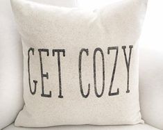 This item is unavailable : Choose Joy Rustic Pillow Cover Farmhouse Pillow Choose Fall Pillows, Throw Pillows Bed, Rustic Pillows, Stenciled Pillows, Curtain Material, Pillow Quotes, Personalized Pillows, Getting Cozy, Pillow Forms