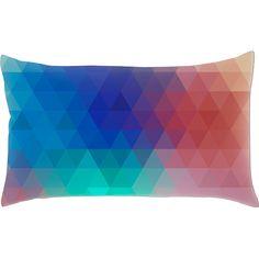 Capa para Almofada Eclético 1 Colorida Poliéster (20x38cm) - Haus For Fun