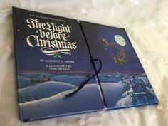 Hallmark Pop-up Book The Night Before Christmas Hardcover Clement C. Moore 1988