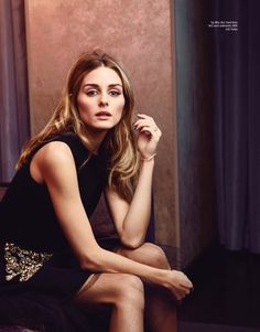 Olivia Palermo by Carla Guler for ELLE Malaysia...