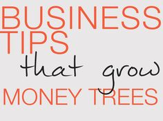 Awesome, fun-to-read business tips that will help you make more money as a creative entrepreneur :)