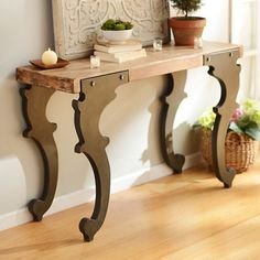 Jackson Industrial Console Table | Kirklands
