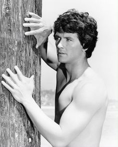 Patrick Duffy as The Man from Atlantis.