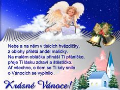 anděl s kostelem Merry Christmas, Santa, Blog, Poster, Pictures, Merry Little Christmas, Wish You Merry Christmas, Blogging, Billboard