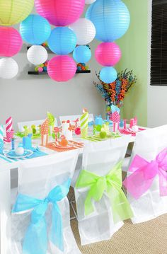 1000 images about anniversaire birthday id es d cos - Idee de decoration de table pour anniversaire ...