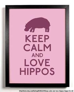 Hippos!!!!! I LOVE hippos