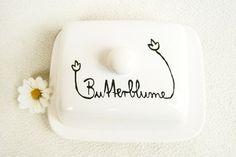 Butterdose Butterblume