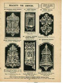 Хобби каталог лепнины, Англия, 1912